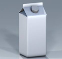 Extrusion Coated Milk Container 125